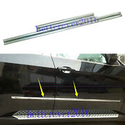 Stainless Steel Body Side Door Molding Line Cover Trim Fits 2008-2013 Bmw X5 E70
