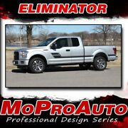 Eliminator 2015-2020 Ford F-150 Truck Side Decals Vinyl Stickers 3m Pro Install