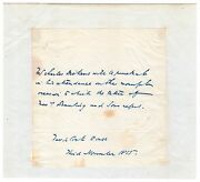Charles Dickens - Autograph Letter Signed - Plans To Attend Funeral He Arranged