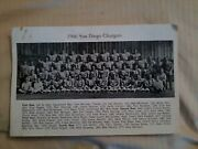 Historic A.f.c. Photos Of 1966 San Diego Chargers