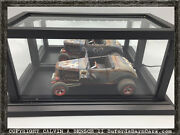 Beautifully Crafted Handmade Lighted Mirrored Display Case For 118 Models