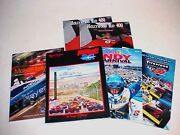 Indy Official Racing Programs Indianapolis_sunbelt_molson_hollywood Mixed Lot 6