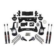 2011-2017 Chevy/gmc 2500hd-3500hd Complete Lift Kit With Shocks 4wd 5-6in Lift