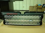 Mit Black Front And Silver Mesh Grille For Range Rover L320 Sport Model 2006-2009