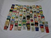 Vintage Lot Of Over 200 Match Books