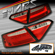 Audi A5 S5 Rs5 09-12 Clear Red 3d Bar Led Tail Lights -for Led Stock Lights Only