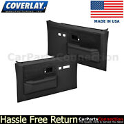 Coverlay Replacement Door Panel Left Right Black 18-35s-blk For Chevy Suburban