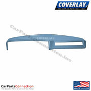 Coverlay - Dash Board Cover Light Blue 18-605-lbl For Bel Air Front Upper