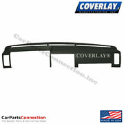 Coverlay-dash Board Cover Black 10-725-blk For D21 Pickup-hard Body Front Upper