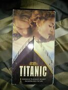 Vhs Titanic Great Condition Both Tapes Together In One Case No Damages