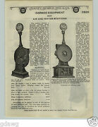 1924 Paper Ad Eco Gas Gasoline Station Air Water Pump Equipment Glass Globe