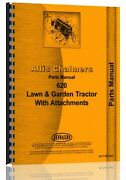 Allis Chalmers 620 Lawn And Garden Tractor Parts Manual  Ac-p-620 Landg