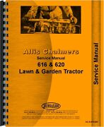 Allis Chalmers Lawn And Garden Service Manual 616 And 620 Lawn And Garden
