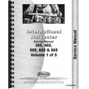 Case-ih 485 585 685 885 Diesel Tractor Service Manual Chassis Only