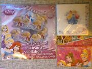 Disney Princess And Frozen Party Packs For 3 To 8 Children Supplies Decorations