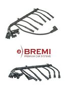 For Bmw E38 750il 95-01 Pair Set Of 2 Ignition Wire Sets Cylinders 1-6 And 7-12