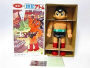 Astro Boy Tinplate Toy Electric Walking Vintage Osaka Tin Toy From Japan F/s