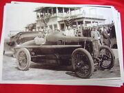 1911 Louis Chevrolet Camper In Race Car 11 X 17 Photo Picture
