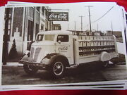 1938 Federal Coca Cola Bottlers Truck 11 X 17 Photo  Picture