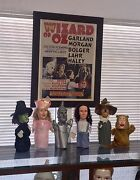 Vintage Wizard Of Oz Puppet Doll Collectors Set Very Rare Very Cool