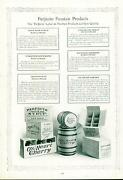Catalog Page Ad Pettee Co Root Beer Syrup Lime Lemon Soda Fountain Supply 1922
