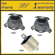 3 Pcs Motor And Trans. Mount For 2008-2011 Mercedes-benz C300 3.0l 2wd