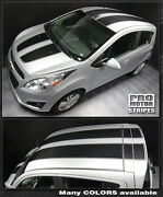 Chevrolet Spark 2013 2014 2015 Rally Racing Double Stripes Decals Choose Color