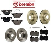 For Bmw E31 850ci 94-97 Complete Front And Rear Brake Kit Pads And Rotors Best Value