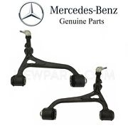 For Mercedes W220 S430 S500 4matic Set Of 2 Front Lower Control Arms Ball Joint