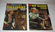 Vintage Dell Comic Books Roy Rogers And Dale Evans 1956 / 54 Free Shipping