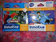 Lot 2 Vtech Innotab Games Miles From Tomorrowland And Ultimate Spiderman Lot27