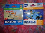 Lot 2 Vtech Innotab Games Miles From Tomorrowland And Disney Planes Lot29