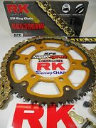 1991-1996 Honda Cbr600 F2/f3 Rk Gxw Gold 530 Supersprox Chain And Sprocket Kit