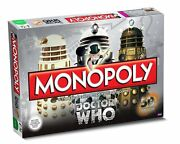 Doctor Who 50th Anniversary Edition Monopoly Dr Who Trading Game