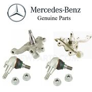 For Mercedes W212 Sedan Pair Set Of 2 Front Steering Knuckles And Ball Joints Kit