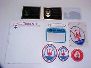 Maserati Owners Club Collection_patches_factory Sticker_name Plaques_button Pin