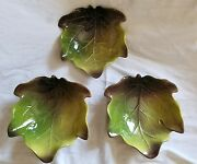 Ambiance Collection Nannette Vacher Figuier Leaves Cereal Dessert Bowls
