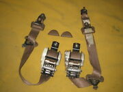 Nissan 300zx Seat Belts And Recievers Brown Color 1987-1989