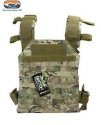 Btp Spartan Molle Lightweight Plate Carrier Airsoft Military Army Paintball