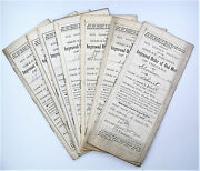 Improved Order Of Red Men Historical Documents - Walnut Indiana Marshall County
