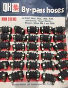 Classic British Car Bypass Hoses With Clamps - 30 Pcs.