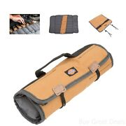 Work Gear Roll Up Wrench Pouch Holder Case Storage Fold Over Bag Snap On