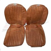 New Seat Covers Upholstery Mgb 1973-80 Made In Uk Autumn Leaf Sc125k
