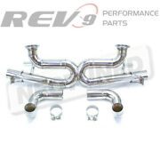 Stainless Steel Cat-back Track Edition Exhaust Kit For Audi R8 4.2l V8 2008-15