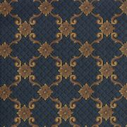 Queen Anne Teal Pattern Indoor 26 Oz Stainmaster Nylon Cut Pile Area Rug