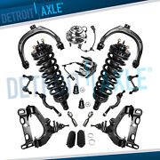 New 18pc Complete Front Suspension Kit For 2002 2003 Chevy Trailblazer Gmc Envoy