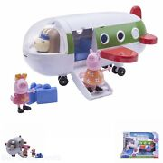 Peppaand039s Holiday Plane Kids Toy Figures Family Play Set New