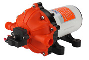 High Pressure Water Pump 12 V Dc 60 Psi 3.0 Gpm 1/2 In. Fittings Replace Flojet