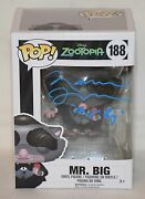 Maurice Lamarche Signed Autographed Mr Big Funko Pop Toy Beckett Bas B19786