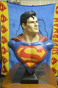 Classic Superman Life Size 11 Bust Muckle Mannequins Rare Limited Edition